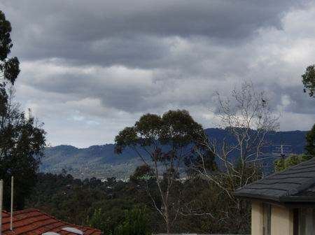 View of the Dandenongs